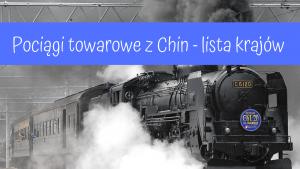 pociągi towarowe