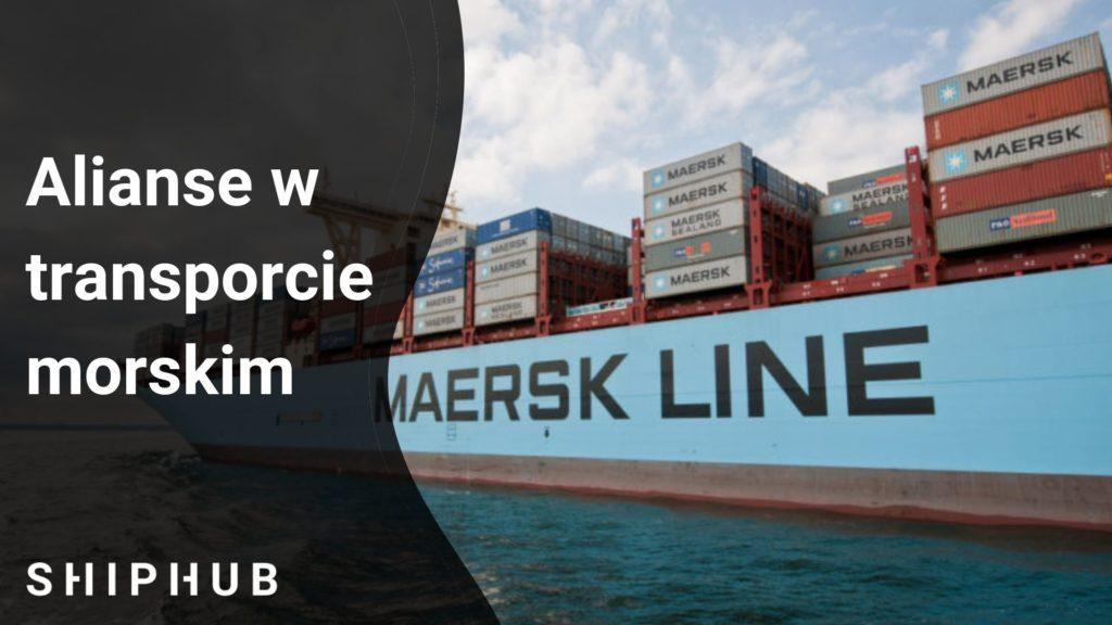 alianse w transporcie morskim