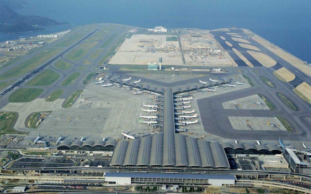 hongkong - porty lotnicze cargo w chinach