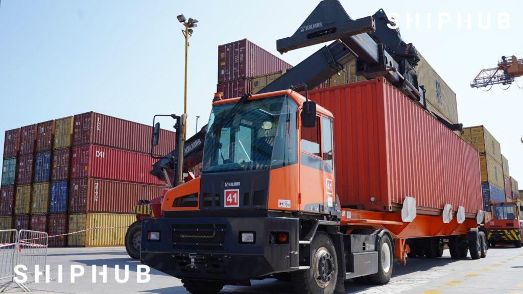 pojazd kontenery