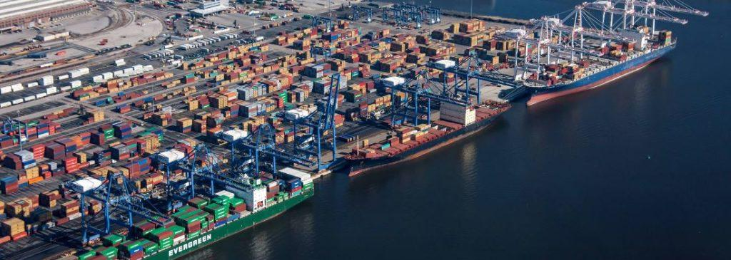 porty w ameryce północnej