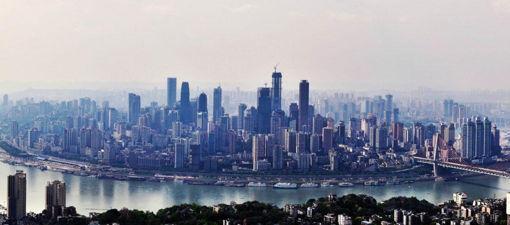 top 5 chińskich miast