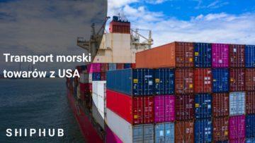 Transport morski towarów z USA